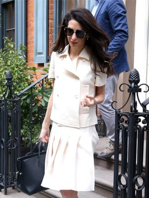 Amal Clooney's Princess Shoes Are Actually Pretty Practical