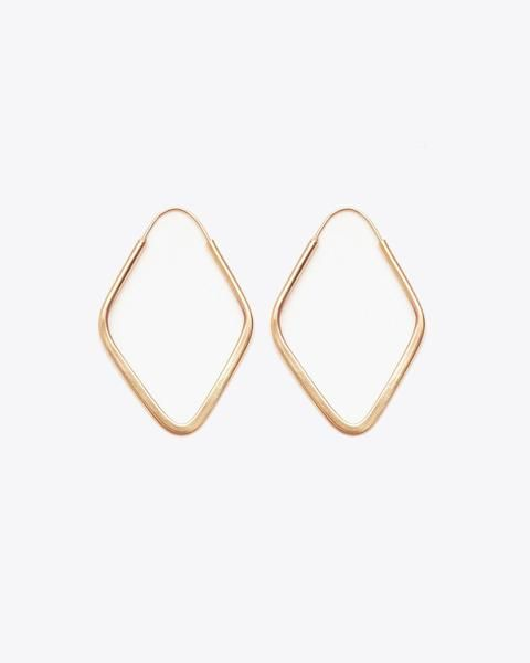 Nisolo Soft Diamond Hoop Earrings