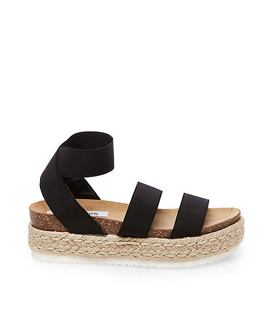 Steve Madden Kimmie Sandals in Black