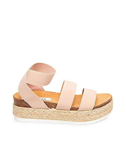 Steve Madden Kimmie Sandals in Blush
