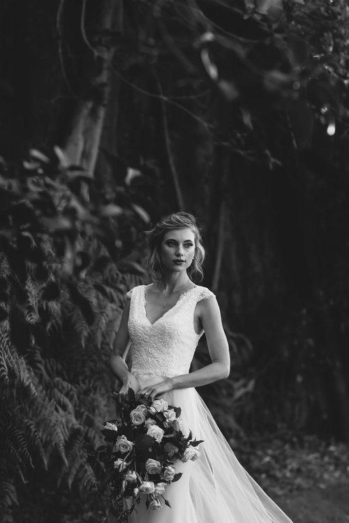 Bardot Gown