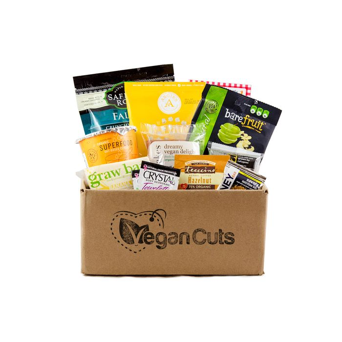 Monthly Snack Box Delivery by Vegan Cuts