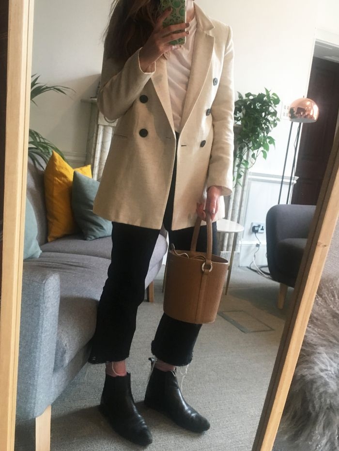 Taking outfit of the day pictures: Emma Spedding