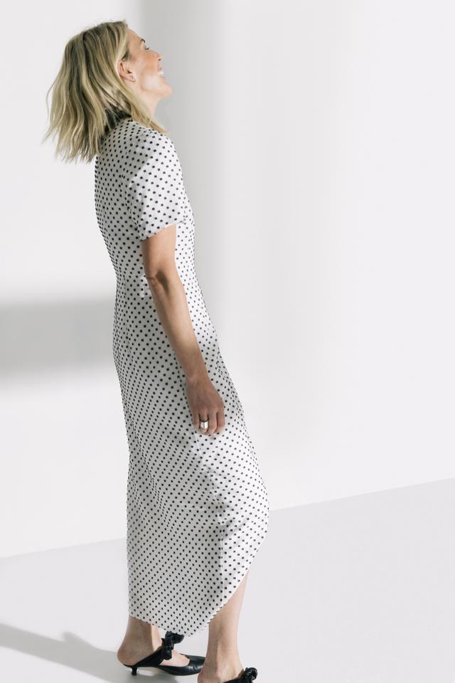Second Sight Short Sleeve Wrap Dress