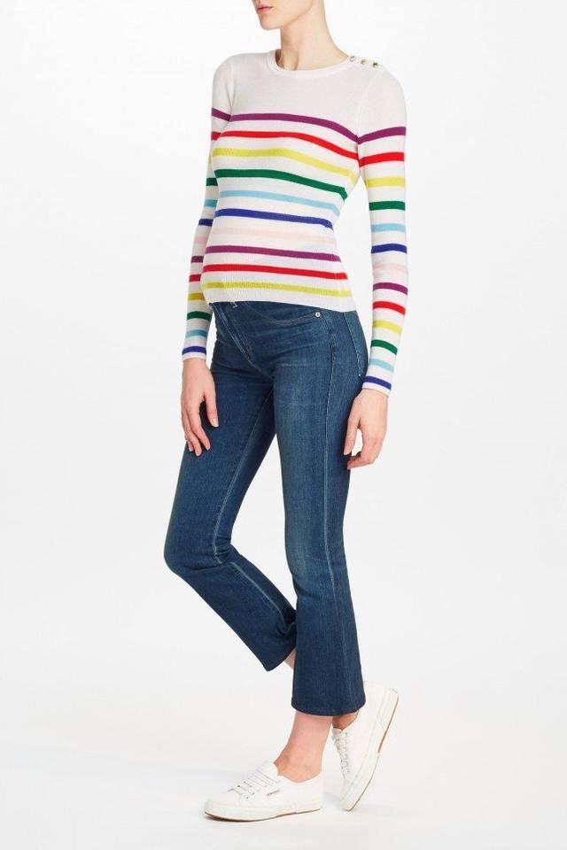 Manoush Arc en Ciel Merino Wool Sweater