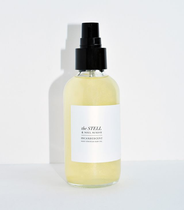 The Stell & Soul Sunday Incandescent Rose Geranium Body Oil