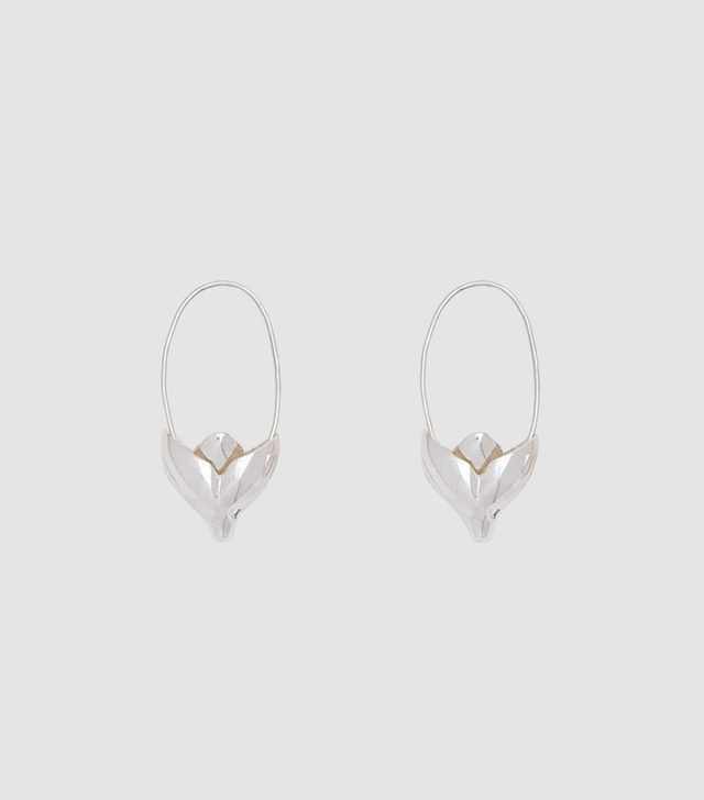 Small Lotus Earring