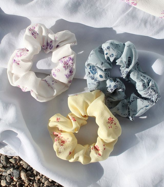 Lily Ashwell Floral Scrunchie