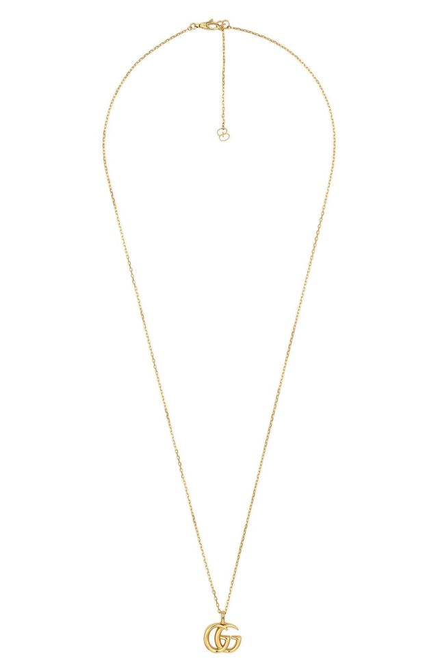 Double-G Pendant Necklace