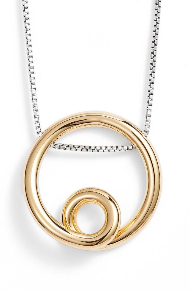 Mini Loop Pendant Necklace