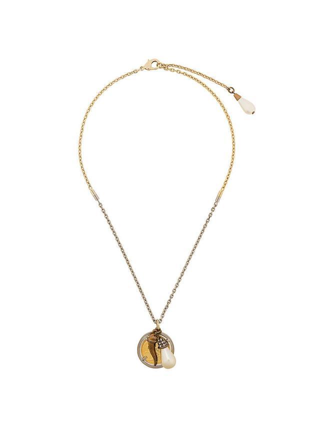 Multi Charm Pendant Necklace