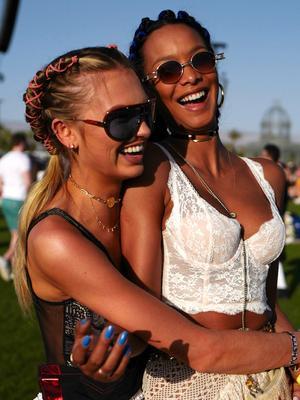 The Best Festival Beauty Looks From Coachella Weekend One