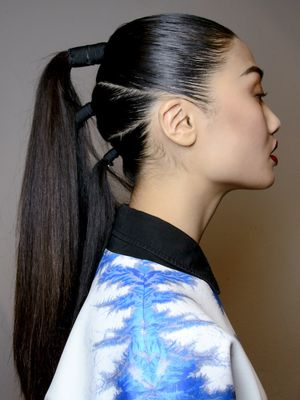 These 13 Runway Looks Prove Ponytails Are Anything But Boring