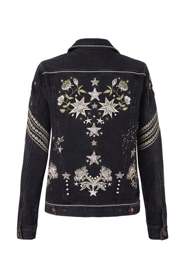 Spell & The Gypsy Collective Celestial Embellished Denim Jacket