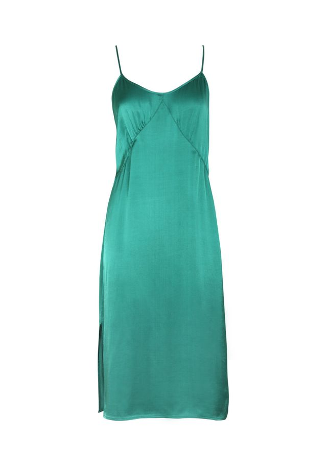 Auguste The Label Harper Slip Dress in Emerald Green