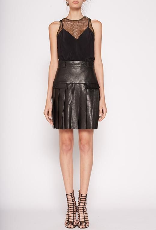KITX Intuitive Pleat Mini Skirt