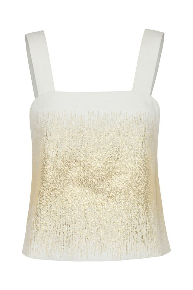 Bon Golden Thread Top