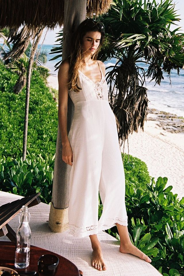 Arnhem Melody Jumpsuit in White