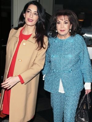 FYI: Amal Clooney's Adorable Mom Has the Chicest Style