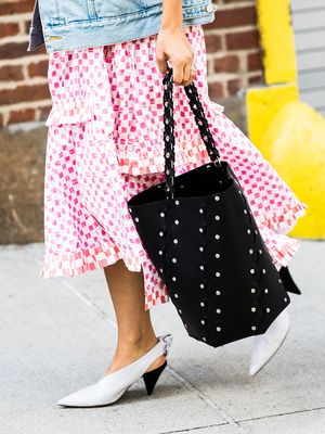 A Fun Lesson in What to Wear With Those White Heels You Bought