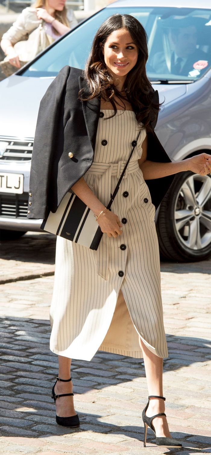 Meghan Markle Altuzarra stripe dress: