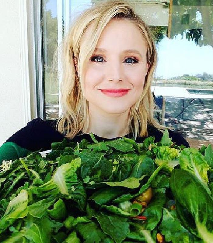 Kristen Bell - Going Green