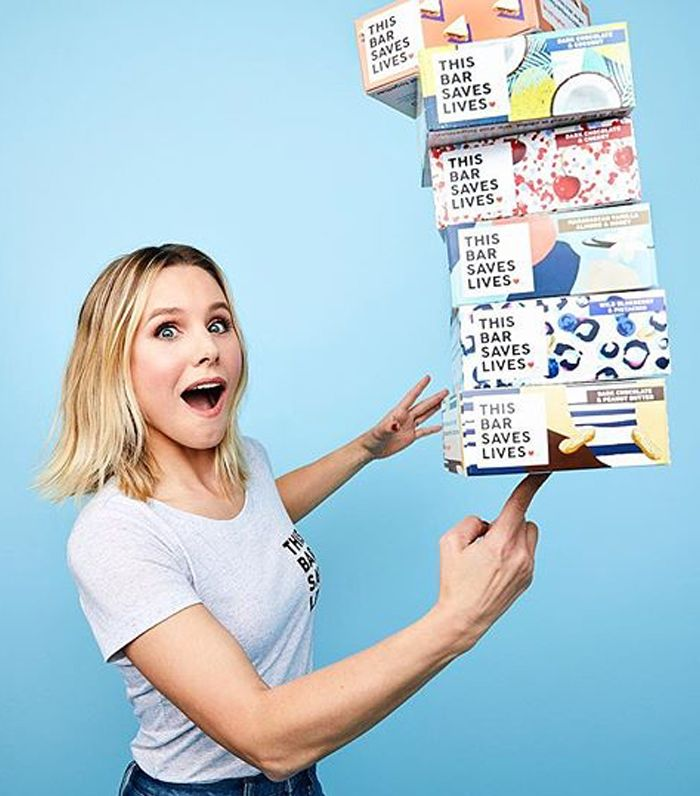 Kristen Bell - This Bar Saves Lives