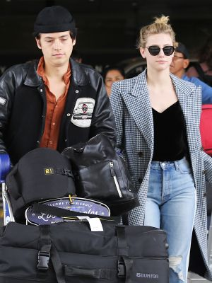 We Need to Talk About Cole Sprouse and Lili Reinhart's Vacation Photos