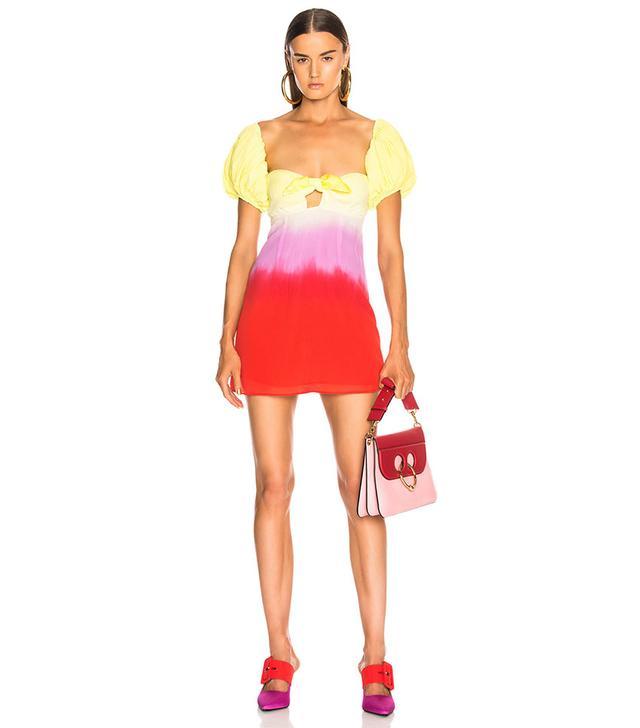 Attico for FWRD Degrade Short Dress