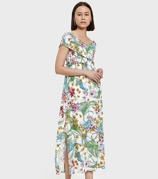 Pina Maxi Dress in Tropical