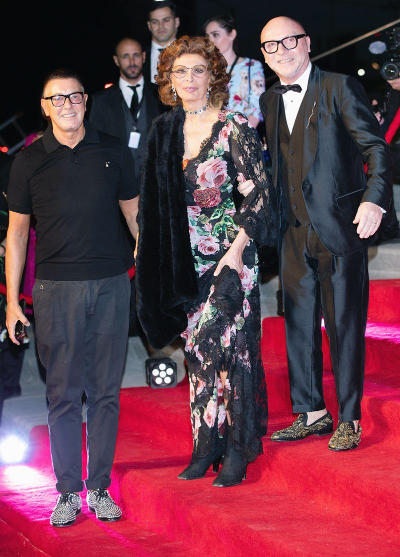 83-Year-Old Sophia Loren Stunned at Dolce & Gabbana s Mexico City Show