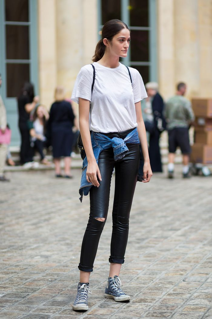 7 Outfits to Wear With High-Tops | Who