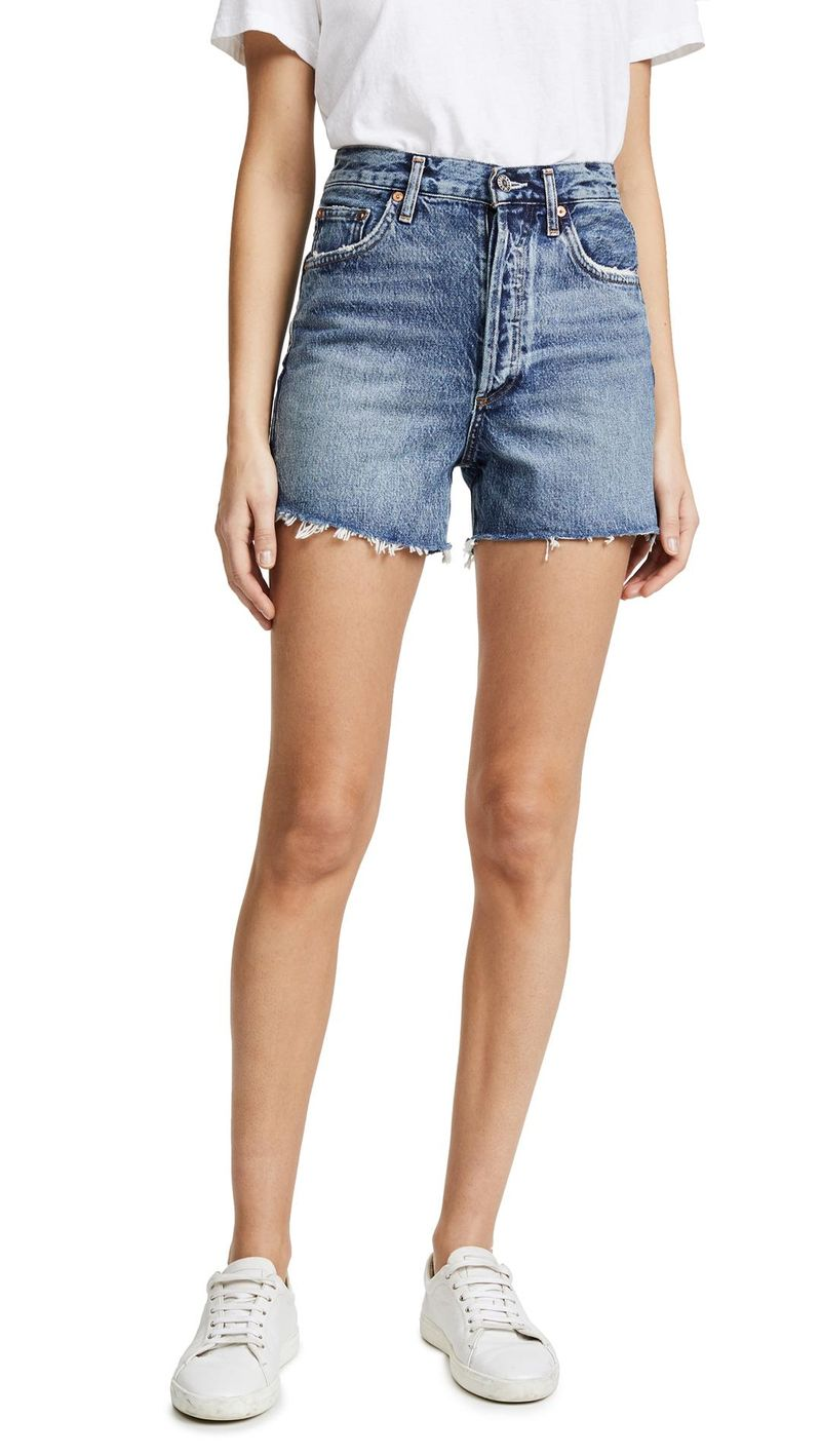 083711b679 I Finally Found the Best Mid-Length Denim Shorts After a Years-Long Search  | WhoWhatWear.com | Bloglovin'