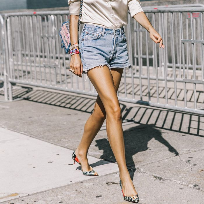 I Finally Found the Best Mid-Length Denim Shorts After a Years-Long Search