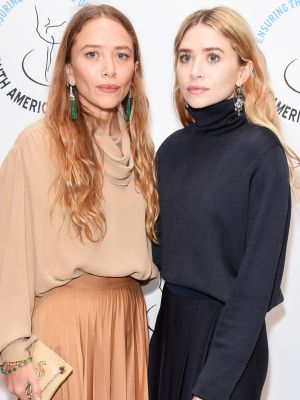 Mary-Kate and Ashley Coordinated for a Rare Red Carpet Appearance