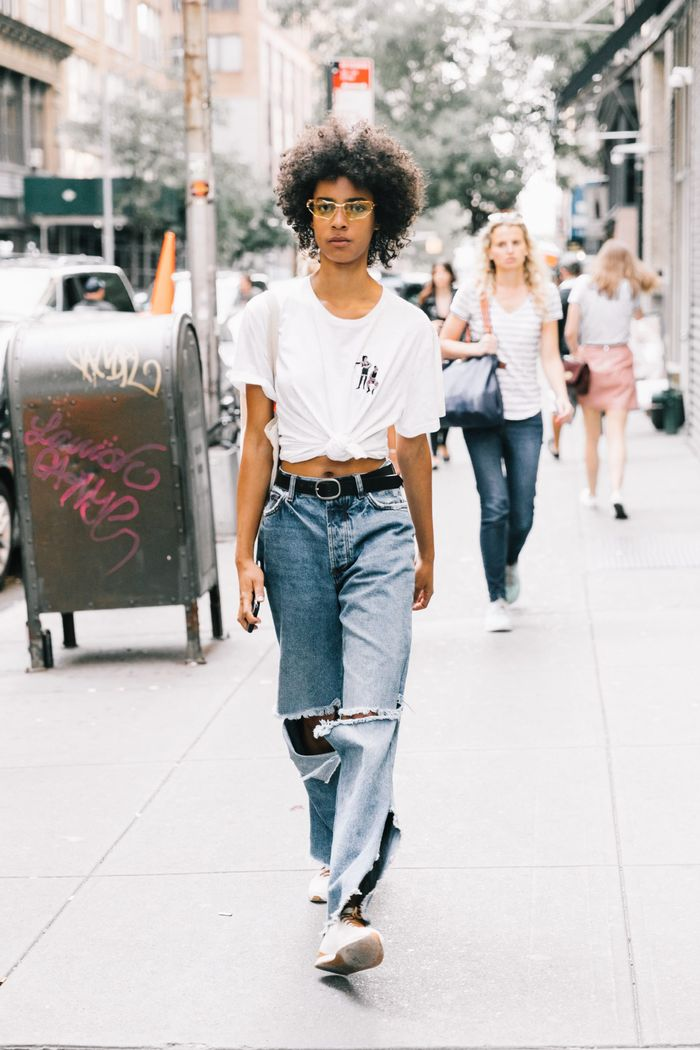 10 Chic Summer Outfits With Jeans Who What Wear
