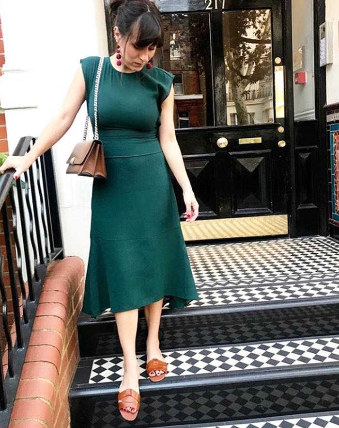 Zara sandals: Katherine Ormerod