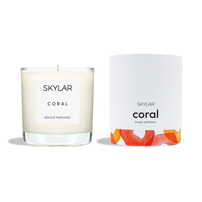 Coral Candle by Skylar Body