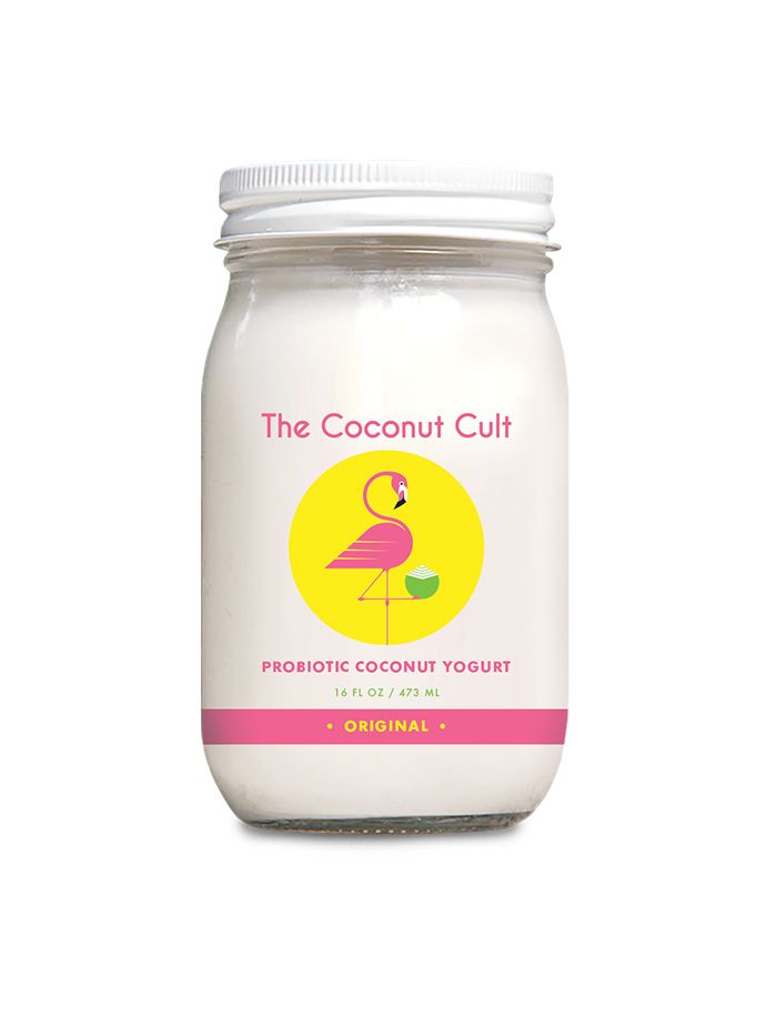 Probiotic Coconut Yogurt (pack of 2) by The Coconut Cult