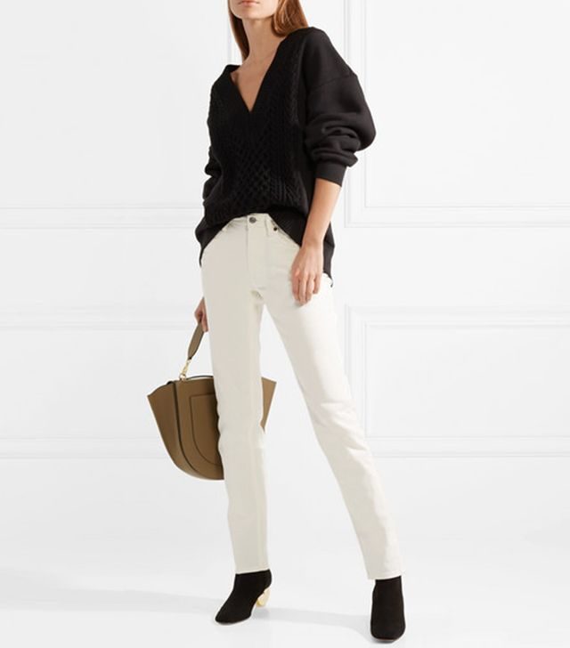 South Mid-rise Straight-leg Jeans