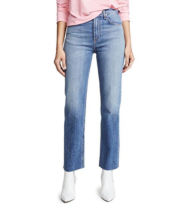 The Straight Leg Jeans