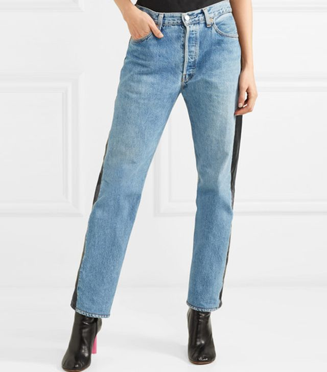 Reworked Straight-Leg Jeans