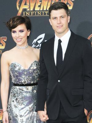 Scarlett Johansson and Her SNL Boyfriend Made Their Red Carpet Debut