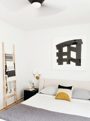 An Interior Designer Gave Her Bedroom a Modern Makeover—We Can't Stop Staring