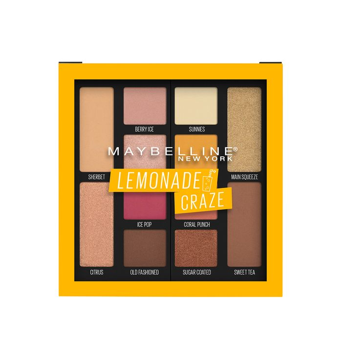 Lemonade Craze Eyeshadow Palette by Maybelline