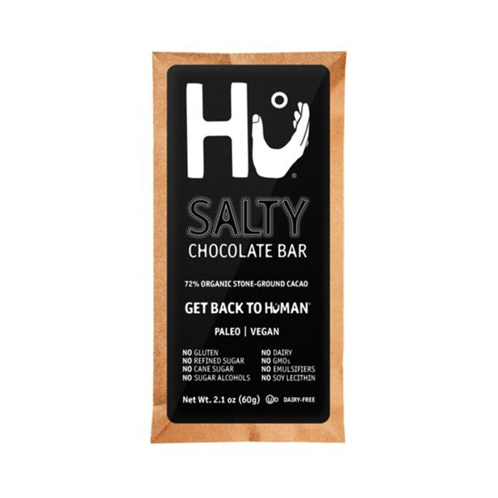 Salty Chocolate Bar (Pack of 4) by Hu