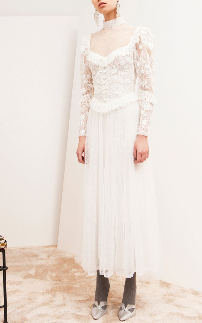 12 Vintage Inspired Wedding Dresses Who What Wear