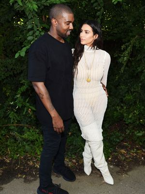 Kanye Just Tweeted Extremely Rare Photos From Inside the Kardashian-West Home