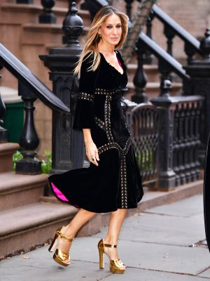 """Sarah Jessica Parker Wore These Non-""""Bridal"""" Shoes to Her Wedding"""