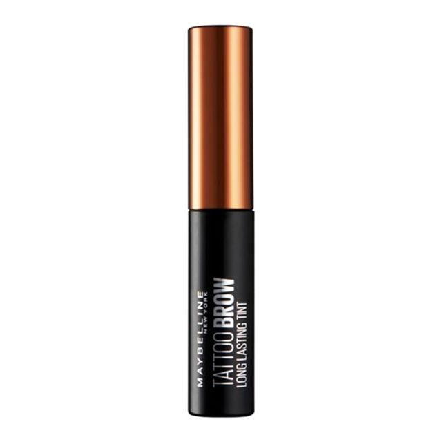 how to tint eyebrows at home: Maybelline Brow Tattoo Long Lasting Tint